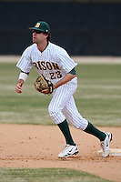 March 17, 2010:  Infielder Kenny Beese (23) of North Dakota State University Bison vs. Long Island University at Lake Myrtle Park in Auburndale, FL.  Photo By Mike Janes/Four Seam Images