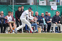 Paul Walter of Essex fields the ball on the boundary during Surrey CCC vs Essex CCC, Specsavers County Championship Division 1 Cricket at Guildford CC, The Sports Ground on 9th June 2017