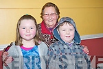 Aoife, Mary and John O'Connor enjoying the Killorglin Pantomines 50th panto, Mother Goose, in the CYMS Killorglin on Sunday.