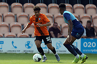 Antonis Vasiliou of Barnet/ and a Wycombe Wanderers triallist during Barnet vs Wycombe Wanderers, Friendly Match Football at the Hive Stadium on 13th July 2019