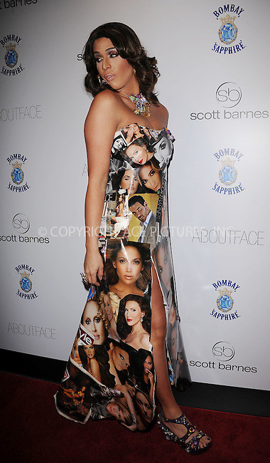 WWW.ACEPIXS.COM . . . . . ....January 20 2010, New York City....Carmen Carrera arriving at the launch party for Scott Barnes' 'About Face' book at Provocateur at The Hotel Gansevoort on January 20, 2010 in New York City.....Please byline: KRISTIN CALLAHAN - ACEPIXS.COM.. . . . . . ..Ace Pictures, Inc:  ..tel: (212) 243 8787 or (646) 769 0430..e-mail: info@acepixs.com..web: http://www.acepixs.com