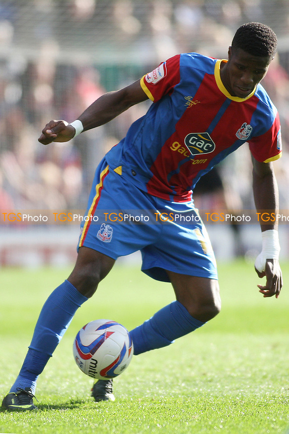 Wilfried Zaha of Crystal Palace- Crystal Palace vs Burnley - NPower Championship Football at Selhurst Park, London - 06/10/12 - MANDATORY CREDIT: George Phillipou/TGSPHOTO - Self billing applies where appropriate - 0845 094 6026 - contact@tgsphoto.co.uk - NO UNPAID USE.