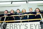 Ardfert NS at the County Final of the Primary schools debating competition at the Education Centre Dromtacker on Tuesday. Pictured l-r Sean Brosnan Katie Hussey, Jack Carney, Fiona Sheehan, James Baxter, Avril Barrett