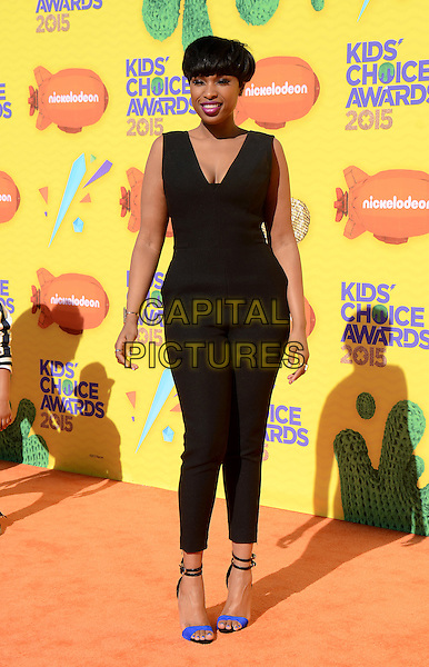 INGLEWOOD, CA - MARCH 28: Jennifer Hudson arrives at the 28th Annual Nickelodeon Kids Choice Awards at the Forum on March 28, 2015 in Inglewood, California. <br /> CAP/MPI/PGTW<br /> &copy;PGTW/MPI/Capital Pictures