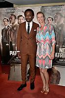 Marc ZINGA, Alexandra LAMY - Avant premiere du film ' NOS PATRIOTES ' le 6 juin 2017 - Paris - France
