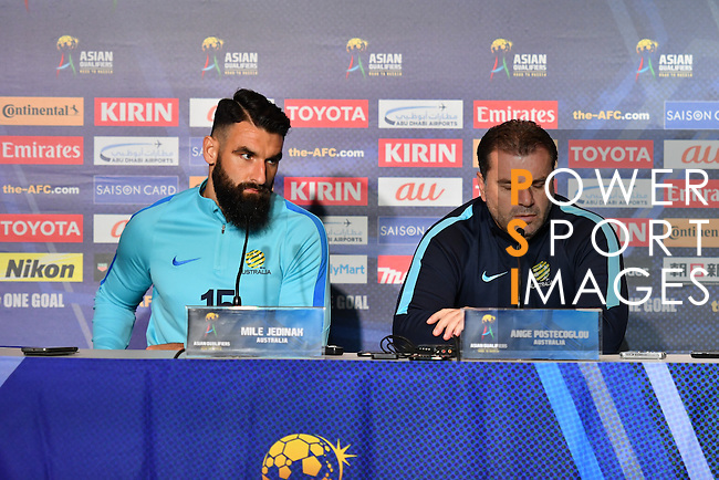 Australia's Press Conference prior to the 2018 FIFA World Cup Russia Asian Qualifiers Final Qualification Round Group B match between Australia and Japan at Etihad Stadium on 10 October 2016, in Melbourne, Australia. Photo by Thananuwat Srirasant / Lagardere Sports