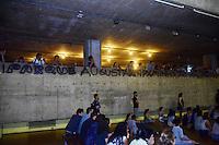 SÃO PAULO,SP - 09.03.2016 - HADDAD-SP - O Prefeito Fernando Haddad, ministra uma aula-magna na Faculdade de Arquitetura e Urbanismo da Universidade de São Paulo, na tarde desta quarta-feira (09) em São Paulo. (Foto: Eduardo Carmim/Brazil Photo Press)