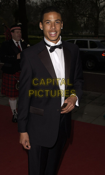 CURTIS DAVIES (West Bromich Albion).At the Professional Footballers' Association Awards (PFA), Grosvenor House, Park Lane, LOndon, England, .April 23rd 2006..Half length suit bow tie brom.Ref: CAN.www.capitalpictures.com.sales@capitalpictures.com.©Can Nguyen/Capital Pictures