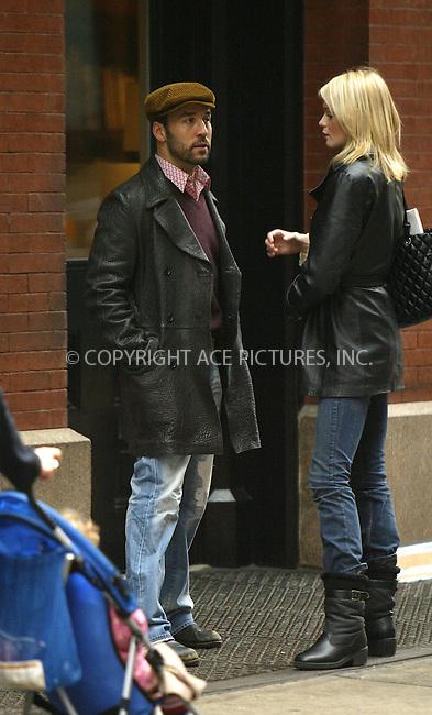WWW.ACEPIXS.COM . . . . .  ....January 12 2006, New York City....Entourage star Jeremy Piven leaves his Soho hotel and says goodbye to a blond friend.....Please byline: JENNIFER L GONZELES-ACEPIXS.COM.... *** ***..Ace Pictures, Inc:  ..Craig Ashby (212) 243-8787..e-mail: picturedesk@acepixs.com..web: http://www.acepixs.com
