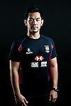 Andy Yen Kin Ho poses during the Hong Kong 7's Squads Portraits on 5 March 2012 at the King's Park Sport Ground in Hong Kong. Photo by Andy Jones / The Power of Sport Images for HKRFU