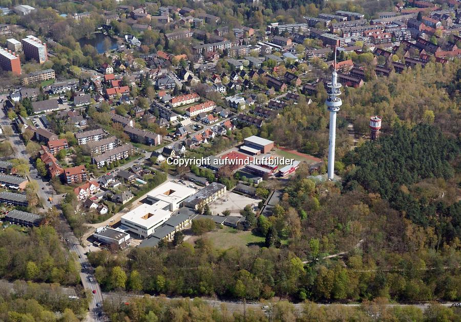 Stadtteilschule: EUROPA, DEUTSCHLAND, HAMBURG, (EUROPE, GERMANY), 16.04.2019: Stadtteilschule Richard Linde Weg,