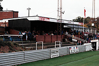 The main stand at Chesham United FC Football Ground, The Meadow, Chesham, Bucks, pictured on 22nd October 1994