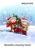 Roger, CHRISTMAS ANIMALS, WEIHNACHTEN TIERE, NAVIDAD ANIMALES, paintings+++++,GBRMCX-0032,#xa#
