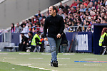 FC Barcelona's coach Lluis Cortes during Liga Iberdrola match between Atletico de Madrid and FC Barcelona at Wanda Metropolitano Stadium in Madrid, Spain. March 17, 2019. (ALTERPHOTOS/A. Perez Meca)