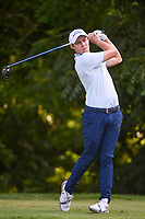 Matt Fitzpatrick (ENG) watches his tee shot on 6 during round 4 of the 2019 Charles Schwab Challenge, Colonial Country Club, Ft. Worth, Texas,  USA. 5/26/2019.<br /> Picture: Golffile | Ken Murray<br /> <br /> All photo usage must carry mandatory copyright credit (© Golffile | Ken Murray)