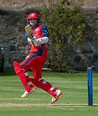 Issued by Cricket Scotland - Tilney Regional Series - Knights V Warriors - Grange CC - Dylan Budge - picture by Donald MacLeod - 28.04.19 - 07702 319 738 - clanmacleod@btinternet.com - www.donald-macleod.com