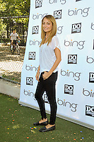 """TV Personality Nicole Richie attends the """"Bing Summer Of Doing"""" with Dosomething.org by restoring CITYarts Mosaic Peace Wall at the Jacob H. Schiff Playground on July 10, 2012 in New York City. © mpi81 / MediaPunch Inc."""