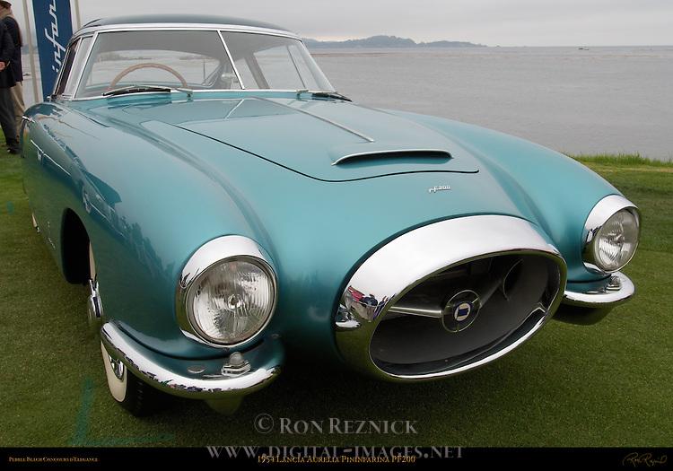 1954 Lancia Aurelia Pininfarina PF200, Pebble Beach Concours d'Elegance