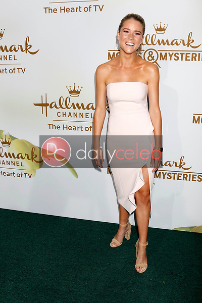 Cassidy GIfford<br /> at the Hallmark TCA Summer 2017 Party, Private Residence, Beverly Hills, CA 07-27-17<br /> David Edwards/DailyCeleb.com 818-249-4998