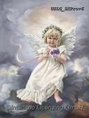 CHILDREN, KINDER, NIÑOS, paintings+++++,USLGSKPROV6,#K#, EVERYDAY ,Sandra Kock, victorian ,angels