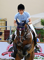 Charlotte Casiraghi during the International Monte-Carlo Jumping on day 01