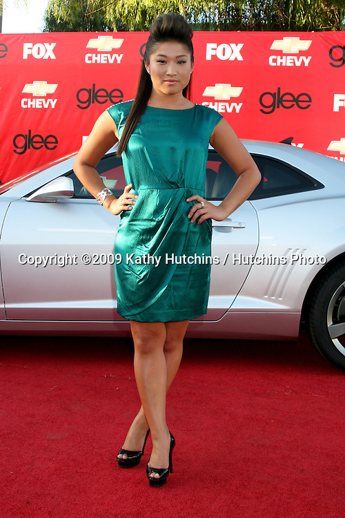 Jenna Ushkowitz    arriving at the GLEE Premiere Screening & Post Party in Culver City, CA on September 8, 2009.©2009 Kathy Hutchins / Hutchins Photo.