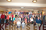 RETIRMENT: On Friday Denny O'Donoghue, Cloghane, Ballyard, (seated centre) who retired from the ESB Garage, Tralee after 36years service and family and collogues held a party in Kerins O'Rahilly's GAA Club, Strand Road,Tralee on Friday night................................... ....
