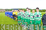 The Killarney Celtic U13 team which defeated Killarney Athletic in the final in Mastergeeha
