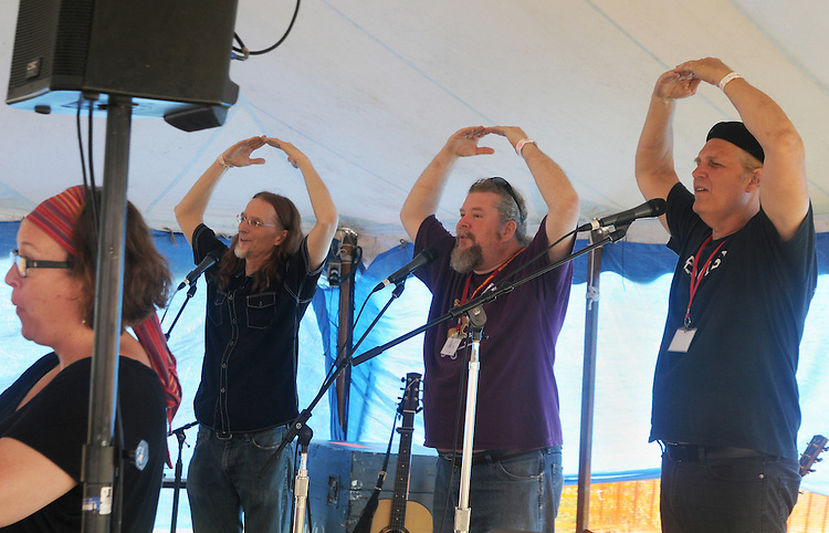 Brother Sun performing in the Family Stage at the Falcon Ridge Folk Festival, held on Dodd's Farm in Hillsdale, NY on Saturday, August 1, 2015. Photo by Jim Peppler. Copyright Jim Peppler 2015.