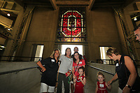 The Ohio State University Varsity O Club members took a tour of the Horseshoe on August 14, 2019. Walt Middleton Photo 2019.