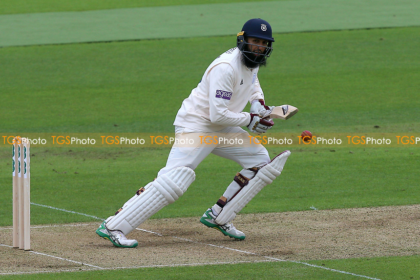 Hashim Amla in batting action for Hampshire during Hampshire CCC vs Essex CCC, Specsavers County Championship Division 1 Cricket at the Ageas Bowl on 29th April 2018