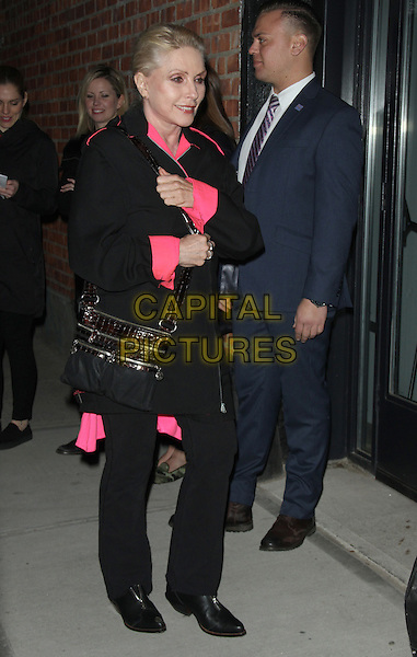 NEW YORK, NY - MARCH 17: Debbie Harry at Sony Pictures Classics presents screening of  The Bronze  at the Metrograph in New York. <br /> CAP/MPI/RW<br /> &copy;RW/MPI/Capital Pictures