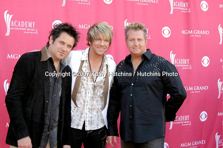 Rascal Flatts.Academy  of Country Music Awards.MGM Grand Garden Arena.Las Vegas, NV.May 15, 2007.©2007 Kathy Hutchins / Hutchins Photo....