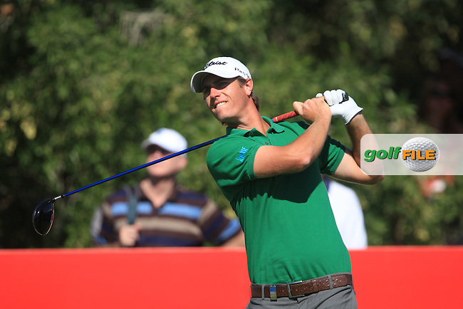 Nicolas Colsaerts (BEL) on the third day of the DUBAI WORLD CHAMPIONSHIP presented by DP World, Jumeirah Golf Estates, Dubai, United Arab Emirates.Picture Denise Cleary www.golffile.ie