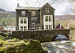 The Bridge hotel, Buttermere village, Cumbria, England, UK
