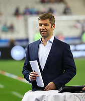 ARD-Experte Thomas Hitzlsperger - 16.10.2018: Frankreich vs. Deutschland, 4. Spieltag UEFA Nations League, Stade de France, DISCLAIMER: DFB regulations prohibit any use of photographs as image sequences and/or quasi-video.
