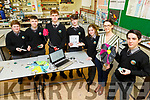 Gaeilcholaiste Chiarrai Tralee 6 students going to the Cansat Ireland Science Foundation National Finals on in Portlaoise on Thursday and Friday 2nd and 3rd of May.<br /> Gaeilcholaiste Ciarrai Tralee is one of 8 schools in the country to qualify and are the only team from Kerry.<br /> Front l to r: Marnie Ní Óráin, Elaine Ní Dheargáin (Teacher) and Peadar Claro (Team Leader).<br /> Back l to r: Jonathan O'Shea, Nathan Ó hEidhin, Morgan Ó Conaill and Tadhg MacGinnea