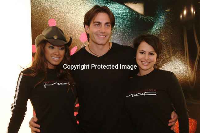 Traci Bingham,  Michael Bergin &amp; Natalie Raitano<br />