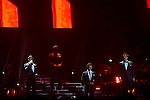 """28.04.2012. Il Divo concert at the Palacio de los Deportes in Madrid (Spain) with his last albun """"Wicked Game"""". This opera-pop group is comprised of the Swiss Urs Bühler, Spanish Carlos Marin, French Sebastien Izambard and American David Miller. (ALTERPHOTOS)"""