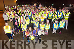Organisers Erin Sheehan and Laura Collins of the North Kerry Operation Transformation with over 160 taking part from Abbeydorney Gaa Complex on Monday