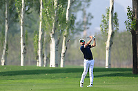 Alexander Bj&ouml;rk (SWE) in action during the third round of the Volvo China Open played at Topwin Golf and Country Club, Huairou, Beijing, China 26-29 April 2018.<br /> 28/04/2018.<br /> Picture: Golffile | Phil Inglis<br /> <br /> <br /> All photo usage must carry mandatory copyright credit (&copy; Golffile | Phil Inglis)