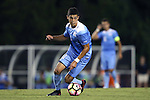 16 September 2016: North Carolina's David October (ENG). The University of North Carolina Tar Heels hosted the University of Pittsburgh Panthers in Chapel Hill, North Carolina in a 2016 NCAA Division I Men's Soccer match. UNC won the game 1-0.