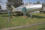 Dassault MD-452 Mystere IVA Norfolk  Suffolk aviation museum Flixton Bungay England.