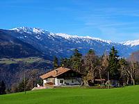 Ortsteil Vellau, Algund-Lagundo, Provinz Bozen &ndash; S&uuml;dtirol, Italien<br /> District Vella, Algund-Lagundo, province Bozen-South Tyrol, Italy