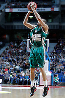 Zalgiris Kaunas' Ibrahim Jaaber during Euroleague 2012/2013 match.January 11,2013. (ALTERPHOTOS/Acero) /NortePhoto