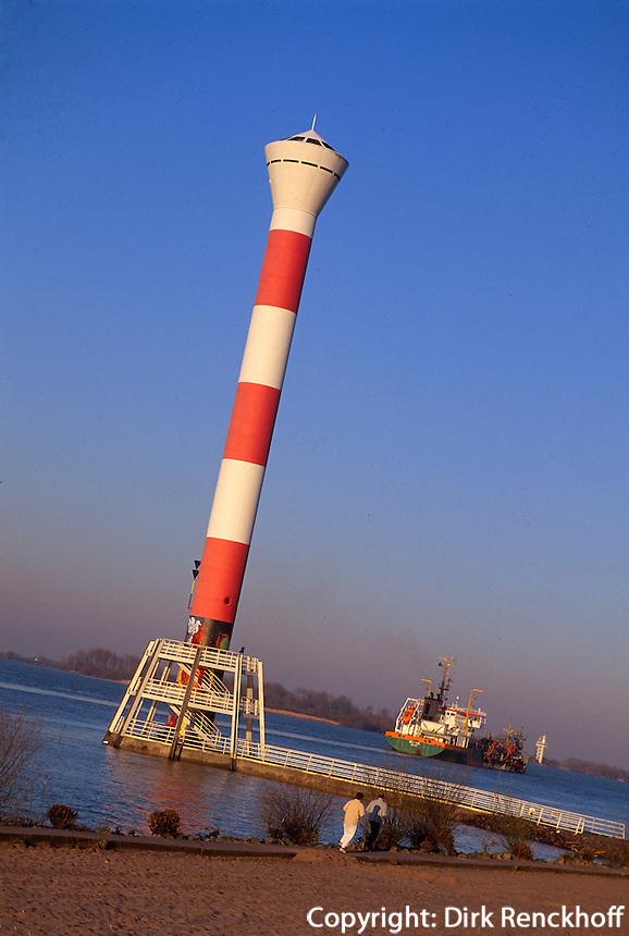 Deutschland, Hamburg, Leuchtturm in Blankenese