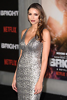"Nadia Gray<br /> arriving for the ""Bright"" European premiere at the BFI South Bank, London<br /> <br /> <br /> ©Ash Knotek  D3364  15/12/2017"