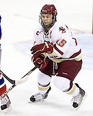 Joe Whitney (BC - 15) - The Boston College Eagles defeated the visiting University of Massachusetts-Lowell River Hawks 5-3 (EN) on Saturday, January 22, 2011, at Conte Forum in Chestnut Hill, Massachusetts.