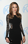 Angelina Jolie at the 23rd Annual Producers Guild Awards 2012 held at the Beverly Hilton Hotel, Beverly Hills, CA. January 21, 2012 ©Fitzroy Barrett
