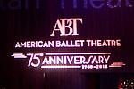 American Ballet Theatre's  75th Anniversary